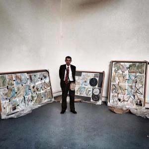 José Pedro, um dos artistas da Deslocado