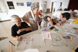 Aldeias artisticas com apoio de Adres