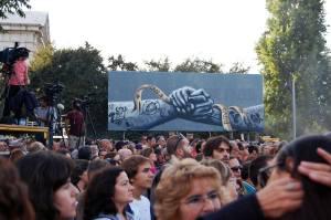 """""""Herói é o povo!"""" - Praça de Espanha 2carryOn"""