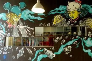 Mural no LX Factory