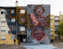 """""""Visceral"""", obra do artista Violant na Quinta do Mocho"""