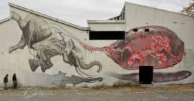 """""""Elephant Problem"""", em Cabo Ruivo. Nov2012 (Crédito: Ricardo Amélio). Com Regg"""