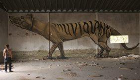 """""""Thylacine"""", em Caldas da Rainha (Crédito: Renato Rio Costa)"""