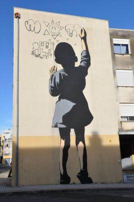 Obra do artista Adres (Crédito: streetarthub.com)