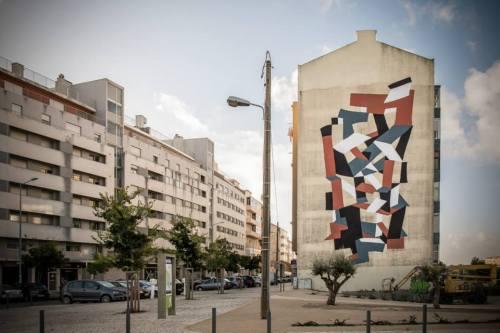 Ação da UnderDogs com o artista Clemens Behr (Crédito: José Vicente)