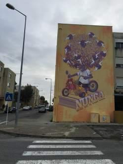 Mural do português Mario Belém (Crédito: Ctrl+Alt+RUA)