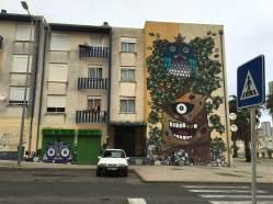 "Mural de Catarina ""Glam"" Monteiro (Crédito: Ctrl+Alt+RUA)"