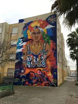 Trabalho da artista mexicana Eva Brancamontes (Crédito: Ctrl+Alt+RUA)