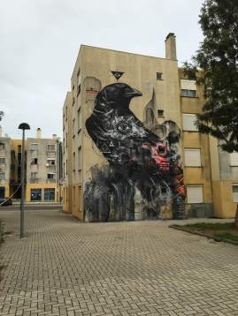 """Mural assinado pelo paulistano """"L7m"""" (Crédito: Ctrl+Alt+RUA)"""