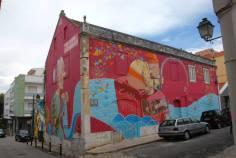Pintura no Muraliza Cascais (2014)
