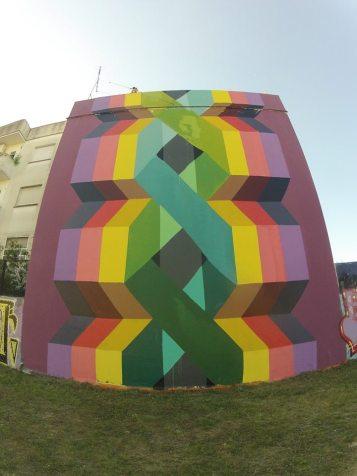 Pintura realizada em Villa Urquiza, Buenos Aires.