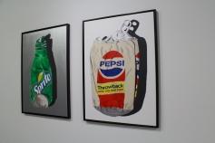 """""""Sprite Throwback"""" e """"Pepsi Throwback"""" (2012), de Charlier Claude"""