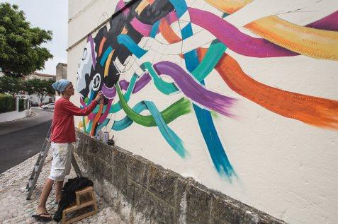 Work in progress de Jacqueline de Montaigne (Crédito: Miguel de Oliveira)