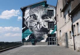 """Maestra"". Acquapendente (ITA). UrbanVision, 2015/ (Crédito: danieleime.com)"
