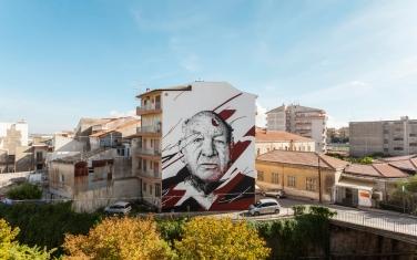 """""""Fvrioso"""". Ragusa (Sicilia-ITA). FestiWall, 2015/ (Crédito: danieleime.com)"""