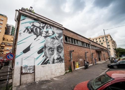 """""""Taglio"""". Roma (ITA). Forgotten Project, 2016 / (Crédito: danieleime.com)"""