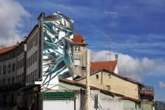 Extra WOOL (2015) Mural realizado pelo artista Pantônio (Crédito: Divulgação/Pedro Seixo Rodrigues)