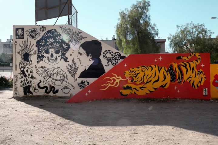 """""""Arad"""" (2017). Pintura realizada em Arad City, Israel"""