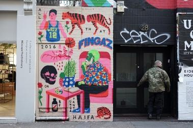 """""""All That"""" (2016). Pintura rápida em Londres"""