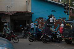 Bibichun em colaboração com Kombet em Medan (Crédito: Hype Media)