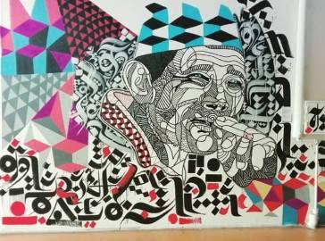 """Common Man"". Trabalho de Sadhu-X em Hamburgo, na Alemanha (crédito: adityaayral)"