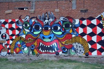 """Composition"" Trabalho de Sadhu-X em Katmandu (crédito: adityaayral)"