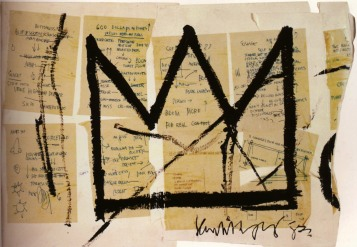 """Crown"" (1983), Basquiat"