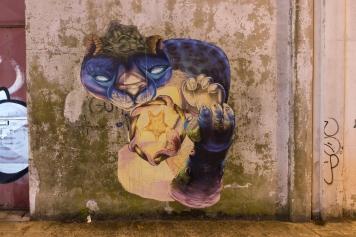 Arte do carioca Heitor Correa (Crédito: Rute Ferraz)