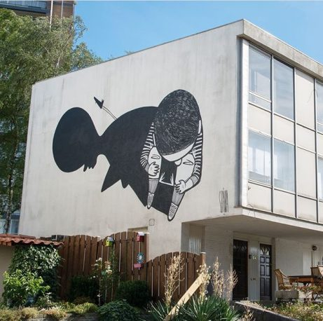 Mural realizado no Heerlen, na Holanda (Crédito: Street Art Heerlen)