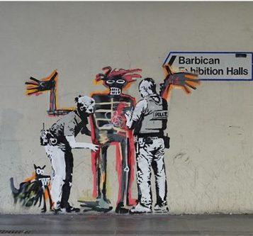 Releitura de Banksy (crédito: @banksy)