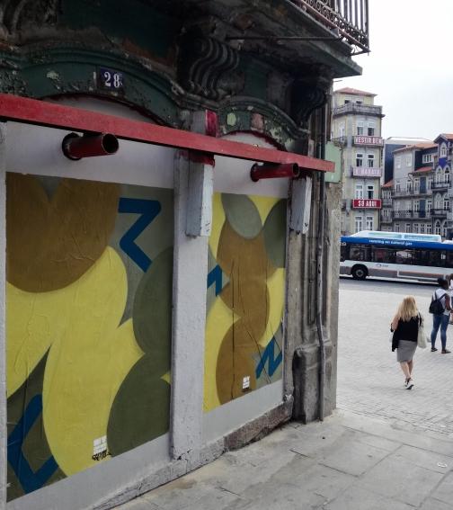 """""""Shapes and Lines"""" no Porto (Crédito: Divulgação)"""