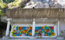 """""""Soundscapes - Kaleidoporto, no Mural da Restauração (Crédito: Divulgação)"""