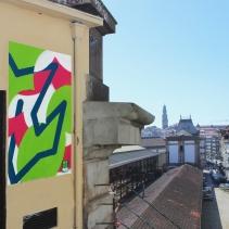 Paste-up de mynameisnotSem no Porto. (Crédito: Divulgação)