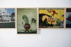 Trabalhos de Vasco Teixera Rodrigues no Museu da Imagem em Movimento (crédito:facebook/artepublicaleiria)