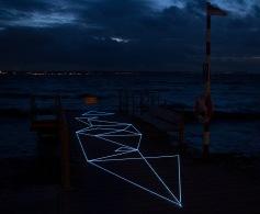 Intervenção de SpiderTag na ArtWeek de Helsingborg, na Suécia