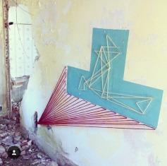 Intervenção na Galicia, Espanha, em 2012 - crédito:@spidertag